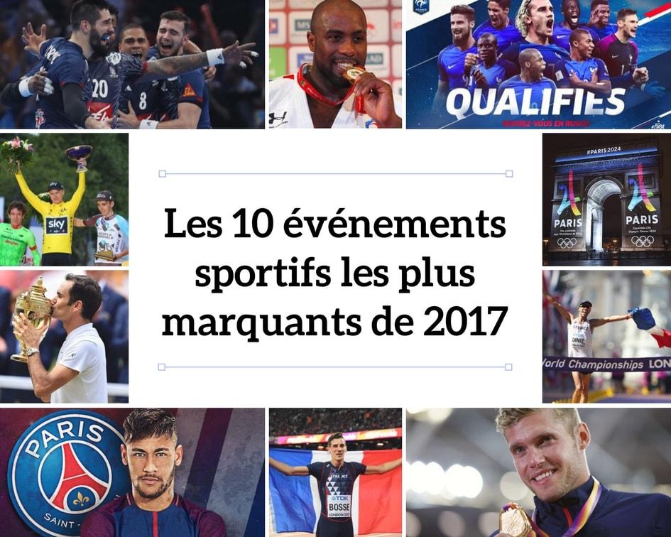 Les 10 événements sportifs les plus marquants de 2017
