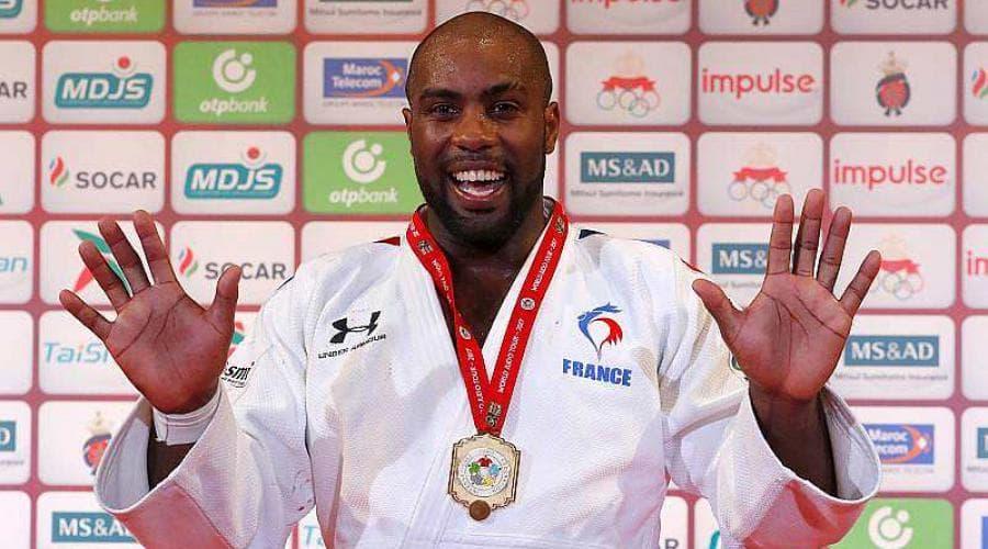 Teddy Riner 10 fois champion monde