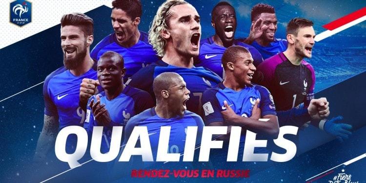 France qualifiée face aux biélorusses