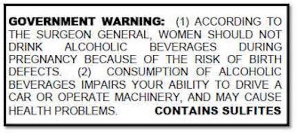 government warning