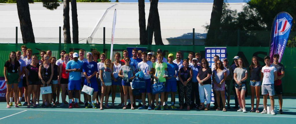 remise récompenses Championnat Tennis juin 2018