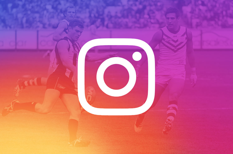 Instagram dans le milieu du sport