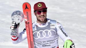 Marcel Hirscher en vainqueur