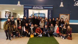Visite du GGL Stadium avec les M1 et M2 Marketing du sport et des loisirs